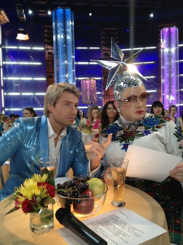 Андрей Данилко ведущий Субботнего вечера