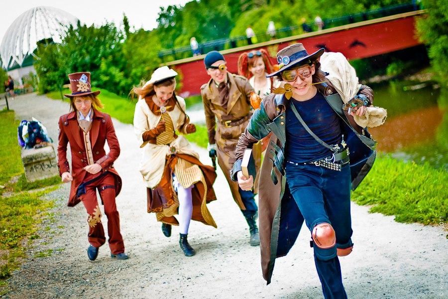 Воздушные пираты (косплей): фотосет (Фото 36)