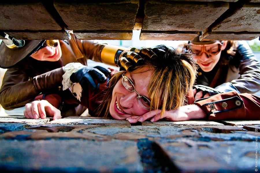 Воздушные пираты (косплей): фотосет (Фото 22)