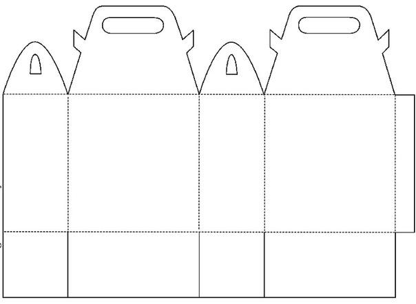 Как сделать большой бумажный пакет