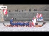 Огонь Олимпиады-2014 проплыл на «лодках-драконах» по Волге
