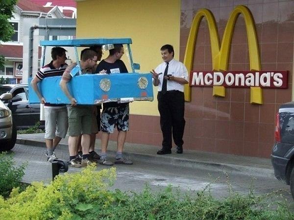 Макдональдс картинки смешные