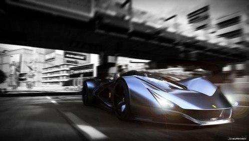 Ferrari Aliante: концепт кар от Arunkumar Shanmugam