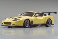Радиоуправляемая модель масштаба 1:27 японской компании Kyosho.  Автомобиль уже собран и готов к гонкам.