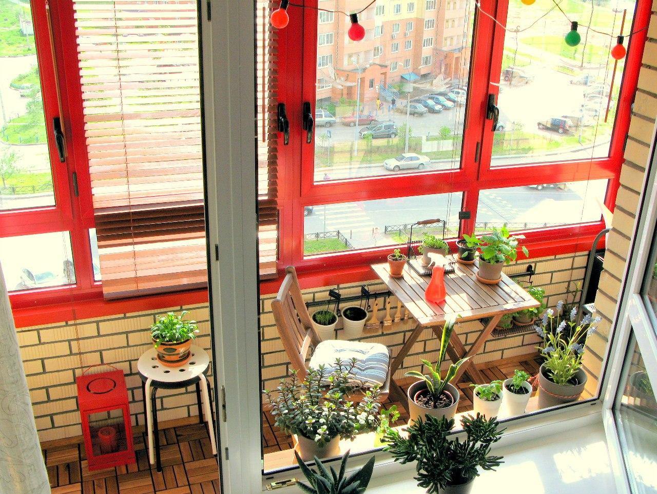 Идеи по обустройству балкона / разное / все для дома / pinme.