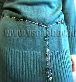 Кстати, эти бусы можно продолжать носить и как бусы,только теперь с кисточкой.  Наверняка и у Вас есть простые по...