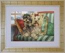 Набор для вышивания бисером КРАСА И ТВОРЧЕСТВО арт.70410 Непоседы.  В наборе: бисерная игла, чешский бисер 15 цветов.