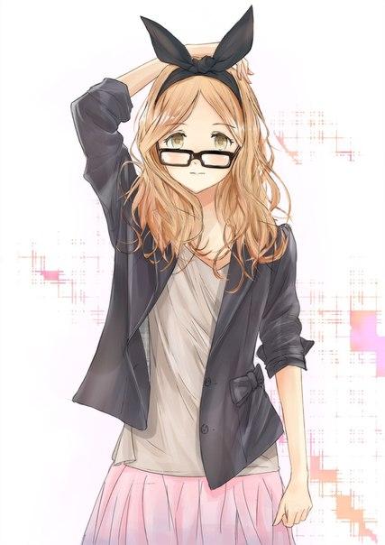 картинки аниме девушек в белье:
