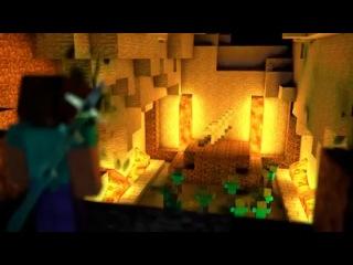 Minecraft. Красивый короткометражный мультфильм Minecraft