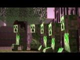 Minecraft. Creeper Encounter - A Minecraft Animation