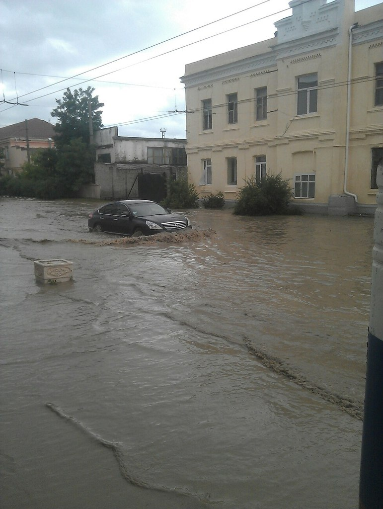 Ая попало в зону наводнения
