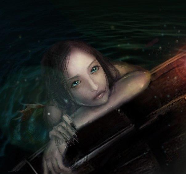 русалка фото пираты карибского моря