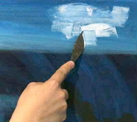 техника живописи: