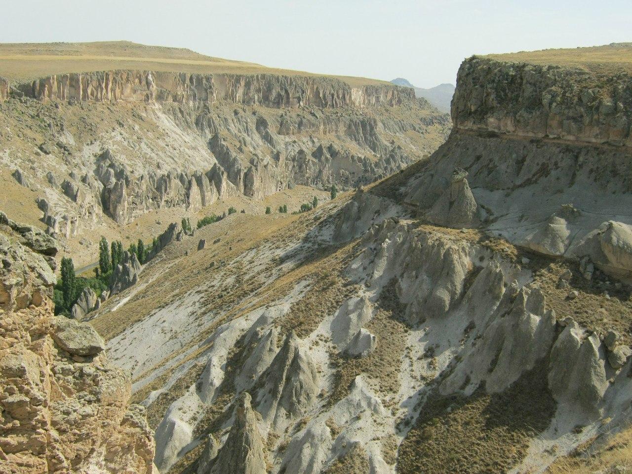 каньоны и долины Каппадокии