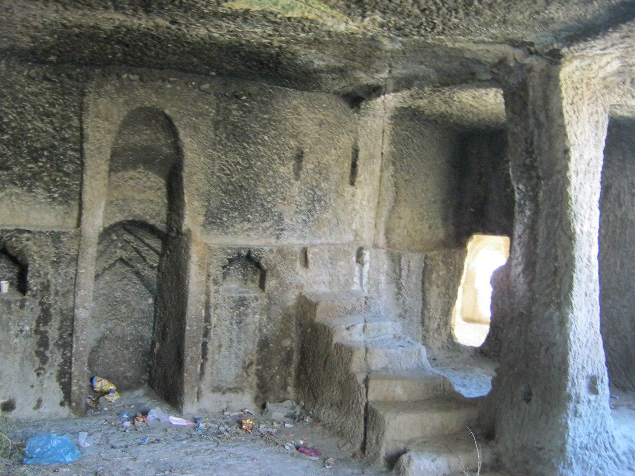 выдолбленная мечеть Каппадокии