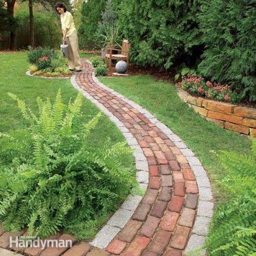 Садовые дорожки на любой вкус, вдохновляемся идеями для оформления своего участка.