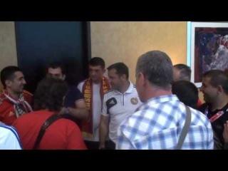 Vardan Minasyan and armenian fans