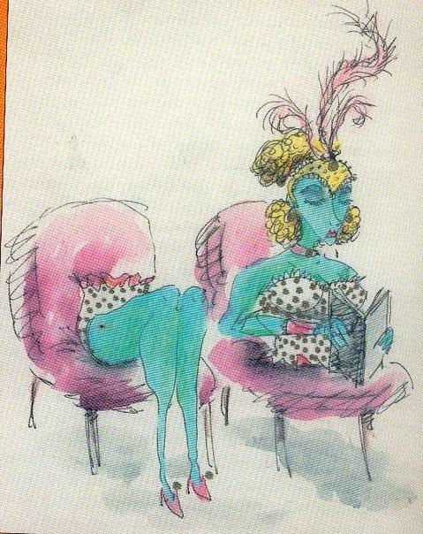 Рисунки Тима Бертона