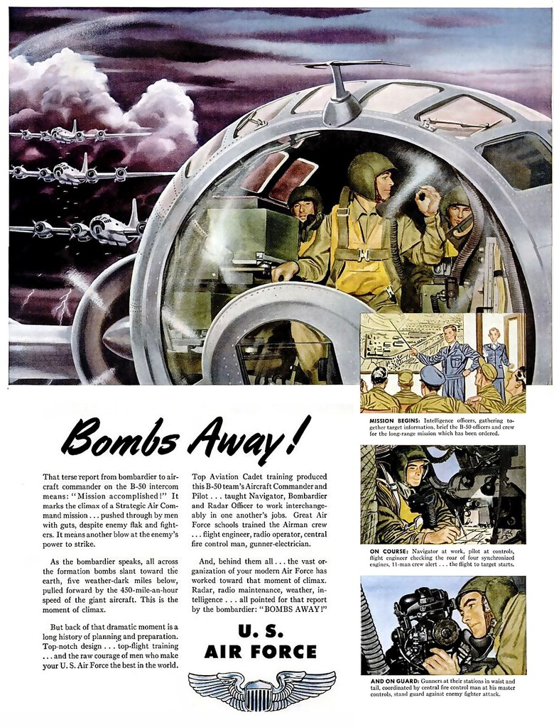 It's friday! Bombs away!