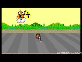 Чак Норрис vs гонки Марио
