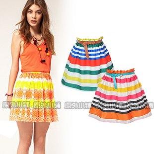 Летние юбки яркие