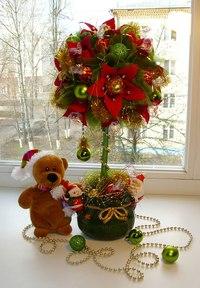 Новогоднее дерево счастья своими руками фото
