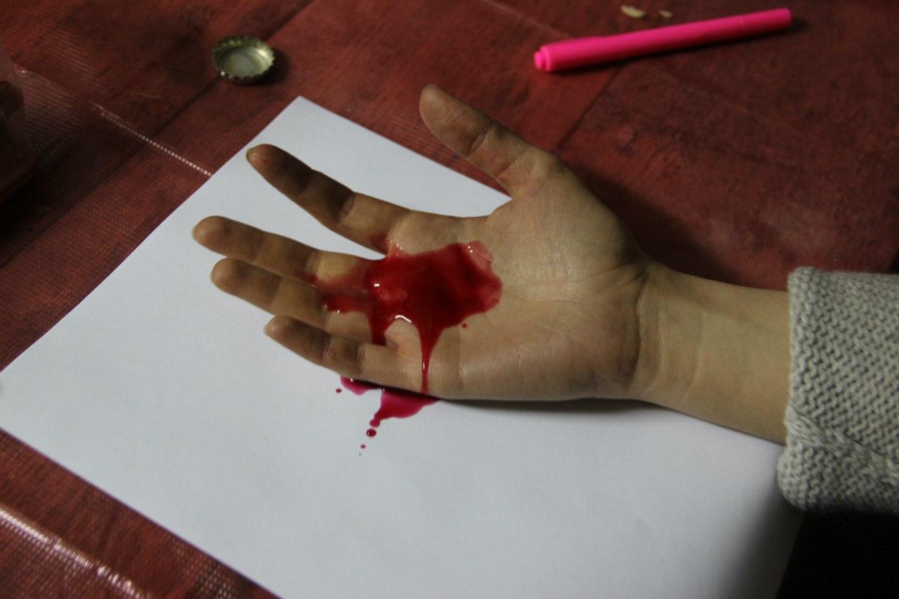 Делаем кровь в домашних условиях 968