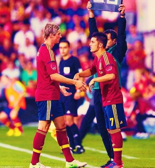 Давид Вилья: «Очень скучал по сборной Испании»