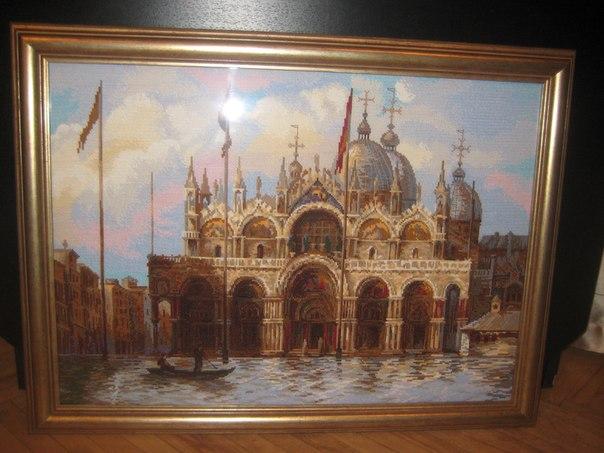 продажа вышитых картин крестом:
