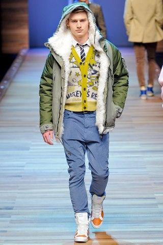 Модные мужские куртки зима 2012-2013 от Dirk Bikkemberg От.
