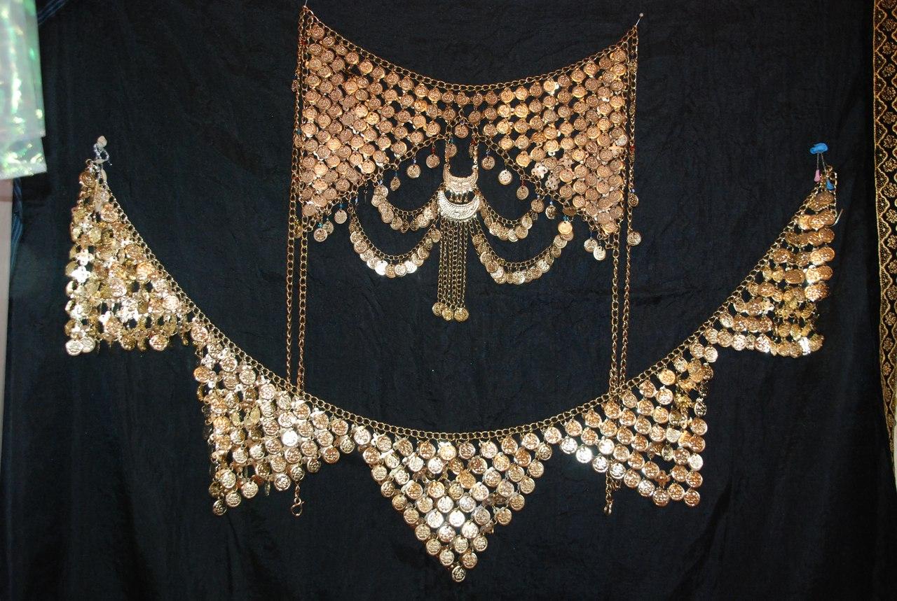 Пояс для восточных танцев с монетками своими руками 91