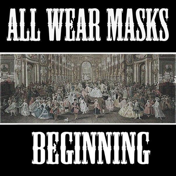 All Wear Masks - Beginning [EP] (2012)