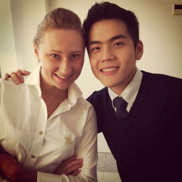 来自共青城的俄罗斯美女和她的中国男友多图