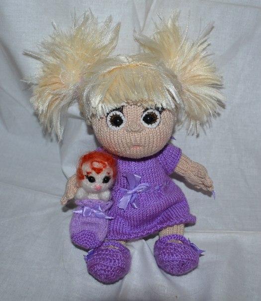 Мк вязание куклы елены ткачевой 8