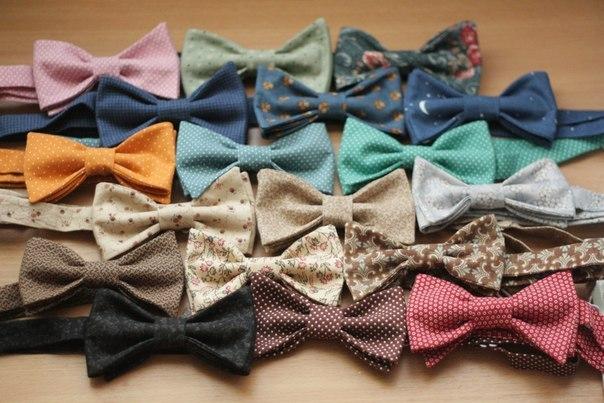 Бабочка-галстук сделать своими руками 13