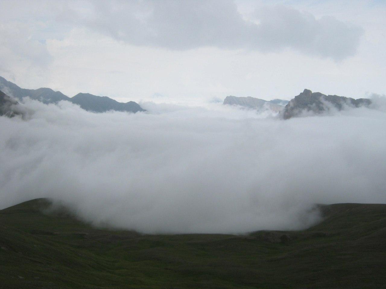 Через перевал из Кабардино-Балкарии в Северную Осетию