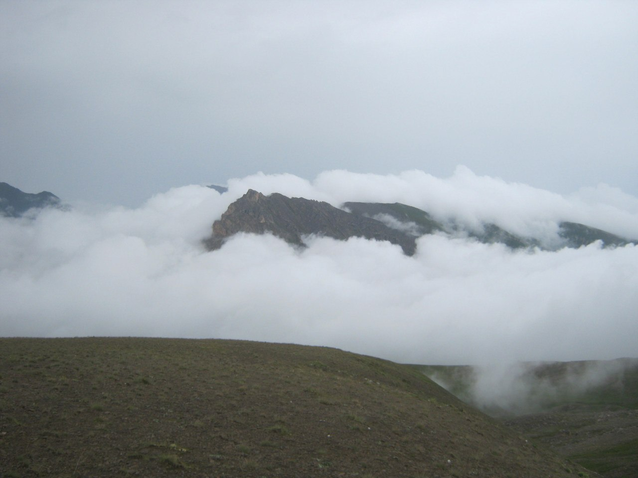 В горах северной Осетии