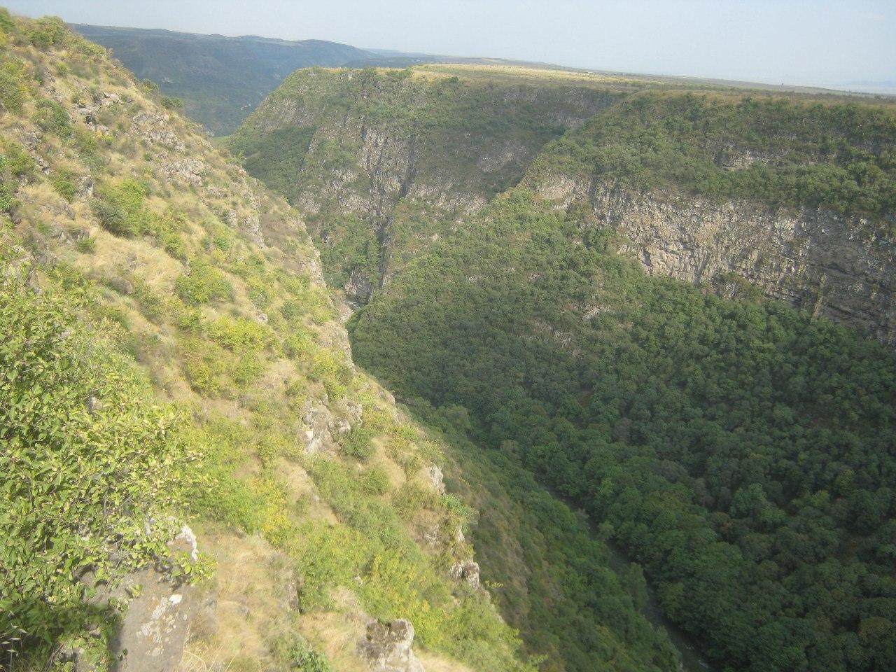 каньон в Самшвилде