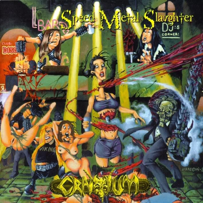 Cranium - Speed Metal Slaughter (1998)