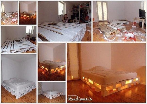 Мастерим кровать!