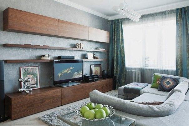 Современный и стильный дизайн квартиры от студии BoConcept