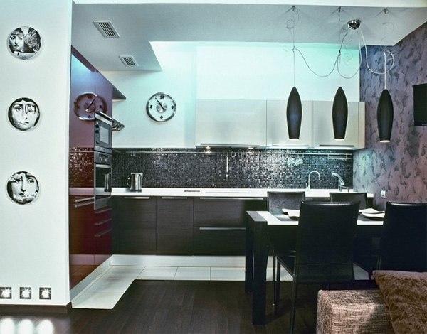 Красивый дизайн квартиры в Санкт-Петербурге. Общая площадь: 94 кв.м.