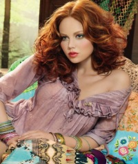 Make Up For Ever has turned towards ethnic, gypsy styles for inspiration this spring 2012 season, so if you're ready...
