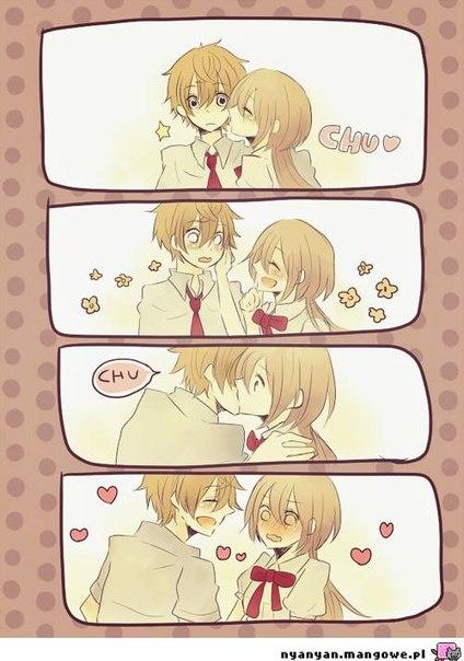 Аниме романтика 18