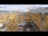 Съемка стадиона «Открытие Арена». 4 сентября 2013 года