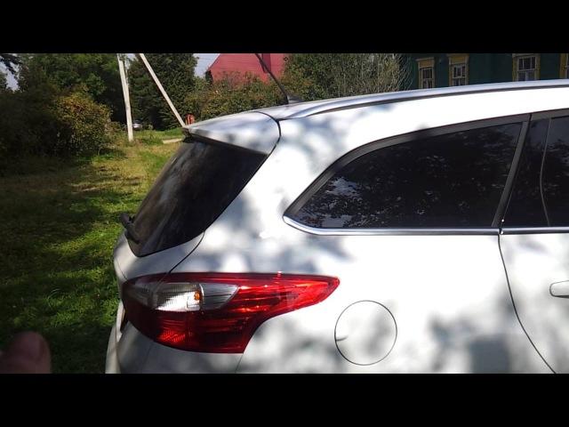 безключевой доступ в багажник форд фокус 3