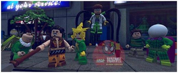Раскраски Лего Марвел распечатать бесплатно