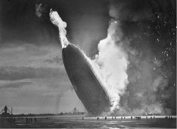 Крушение Гинденбурга. 6 мая 1937 года