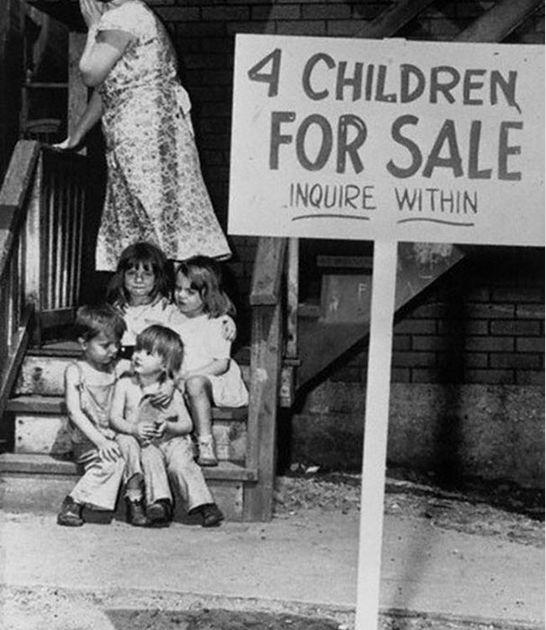 Дети на продажу. Чикаго. 1948 год