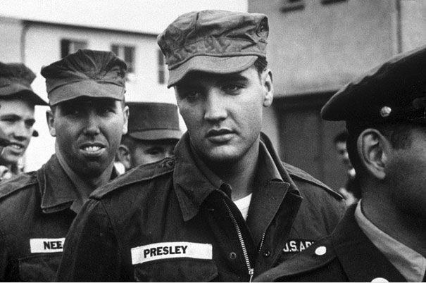 Элвис в армии. 1958 год